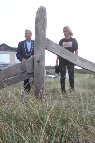 Borgmester Erik Buhl og Susanne Junge